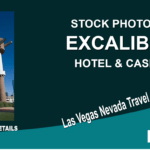 Stock Photo Excalibur Hotel & Casino Las Vegas