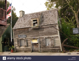 Stock photo Old Schoolhouse St Augustine Florida