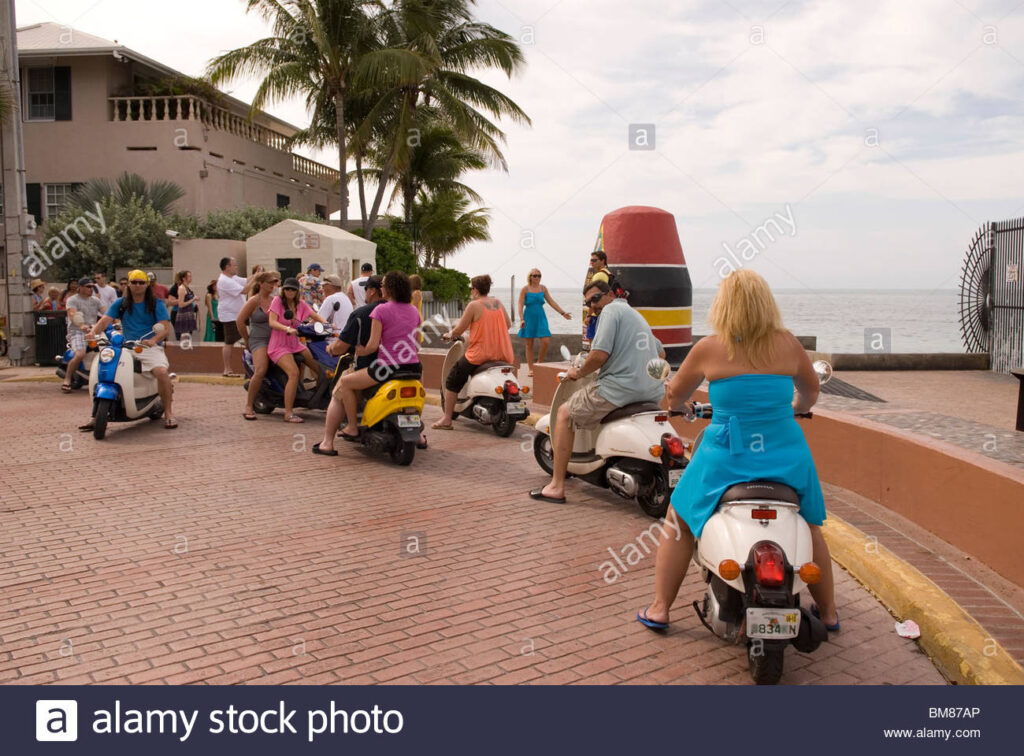 Stock photo of Key West Florida Southernmost Point